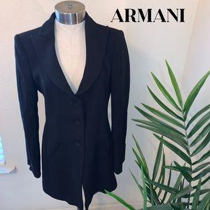 Armani blazer coat
